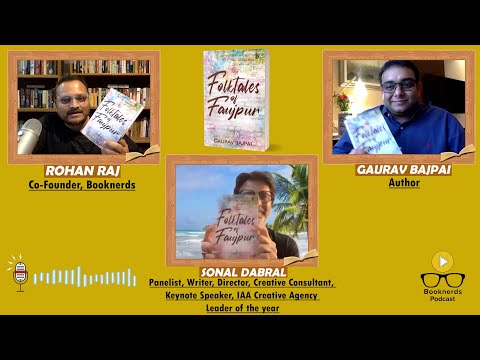Online Book Launch | Folktales of Faujpur| Author Gaurav Bajpai | Sonal Dabral