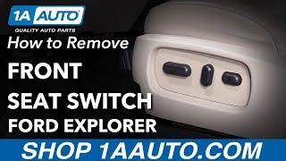 Nonton How To Remove Front Seat Switch 2011 Ford Explorer Film Subtitle Indonesia Streaming Movie Download