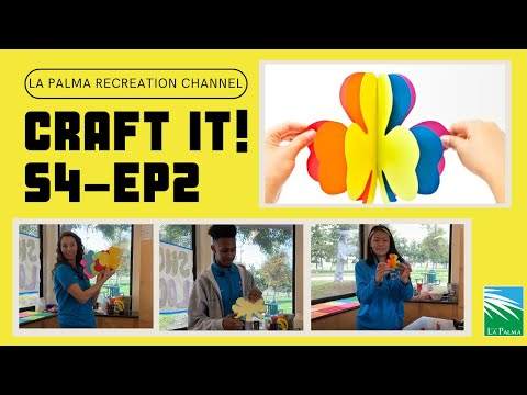 La Palma Recreation Channel: Craft It! – Season 4, Episode 2