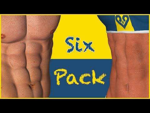 腹直肌 - 打造腹部. 该训练是基于著名的