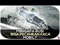 Alasan Pecahan Keramik Busi Ditambah Ludah Bisa Pecahkan Kaca Mobil