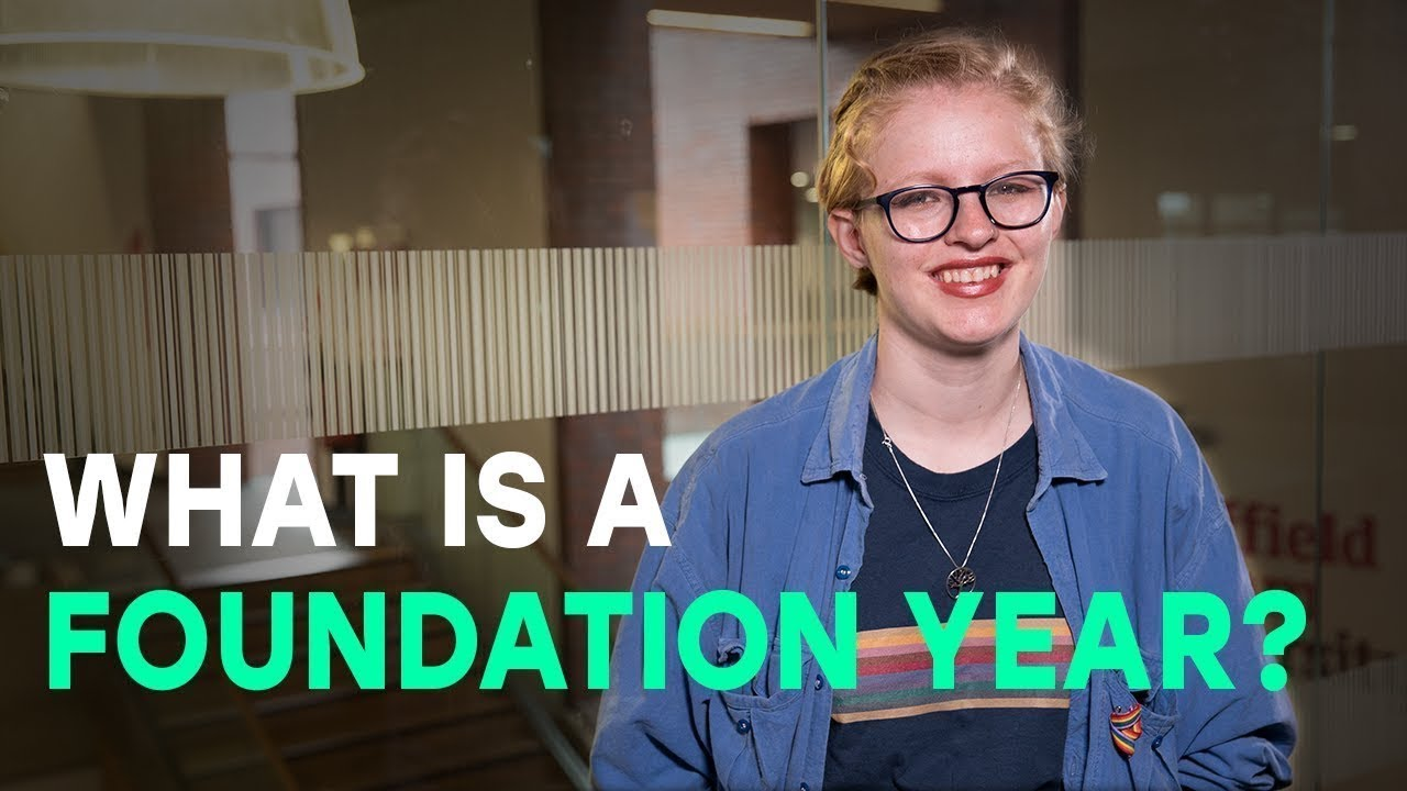 Prepare for uni with a foundation year