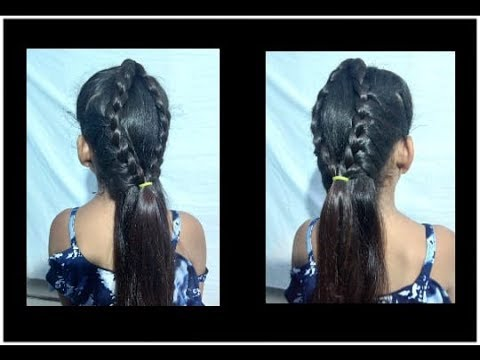 Hairstyles for short hair - 2 easy hairstyle for short hair / hairstyles for step by step hair style girl for braid hair styles