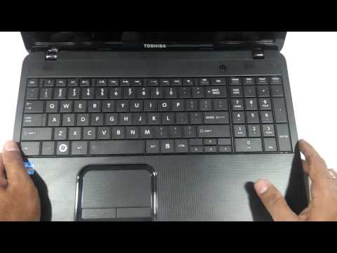 toshiba satellite C850 850 glossy 2013 model first look review and hands on in hd