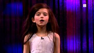 Amazing seven year old Angelina Jordan sings Fly Me To The Moon