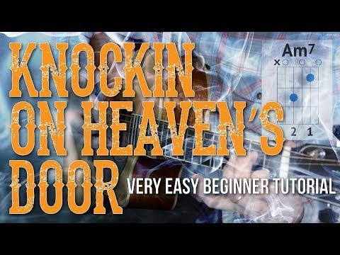 Knockin On Heaven's Door - Easy Guitar Tutorial | Bob Dylan Guitar Lesson - Easy Chords/Strumming