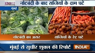 Demonetisation Effect: Vegetable prices down to half at APMC market in Mumbai