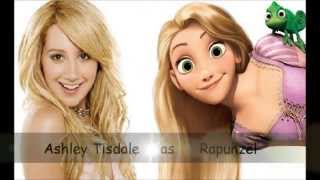 Disney girls and Disney princesses lookalikes