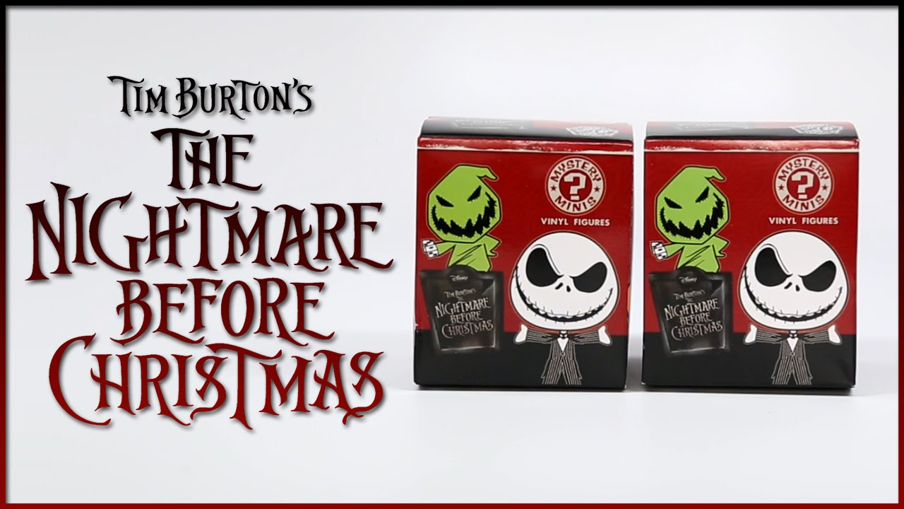 The Nightmare Before Christmas Mystery Minis by Funko!
