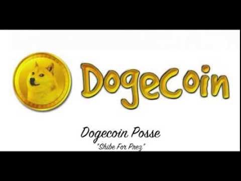 "Dogecoin Posse – ""Shibe For Prez"" Official Song"