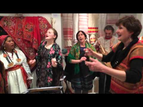 Costume traditionnel paysan russe - Vernissage & Concert - 15/01/2016