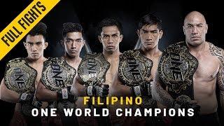 Video ONE: Full Fights | 2018's Filipino World Champions MP3, 3GP, MP4, WEBM, AVI, FLV Februari 2019