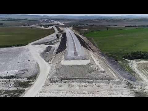 Строительство обхода Симферополя научастке Дубки-Левадки
