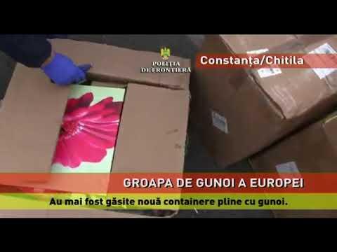 Nouă containere cu deşeuri, descoperite în Constanţa şi Ilfov
