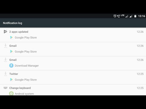 Notification History In Android – How to see accidentally cleared notifications (No Root)