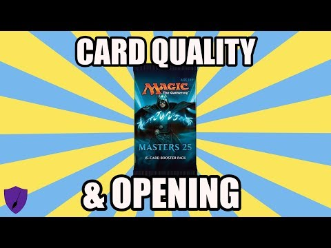 MASTERS 25 OPENING AND CARD QUALITY ASSESSMENT (видео)