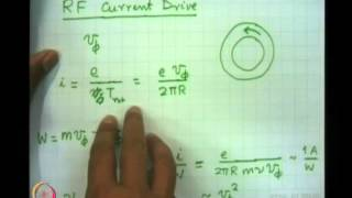 Mod-01 Lec-27 Auxiliary Heating And Current Drive In Tokamak
