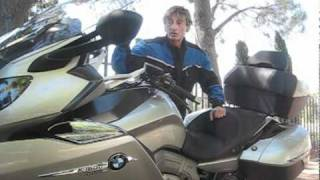 2. 2012 BMW K1600GTL Motorcycle Review - New Beemer makes Gold Wing look wrinkly