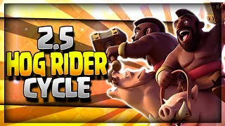 Super Fast 2.5 Elixir Hog Rider Cycle Deck. Hog Rider Cycle Deck for Legendary Arena 11, Hog Mountain Arena 10, Jungle Arena 9 and Frozen Peak Arena 8. Hog Rider Deck ft. New Bats Card.~~~Free Gems: http://mistplay.co/shane ~~ Invite Code: ShaneWhat do you guys think is the best Hog Rider Deck? Let me know in the comments!Click here to Subscribe: http://www.youtube.com/channel/UCTsFqvFocRsP6YmdzPdHwCw?sub_confirmation=1Follow me on Twitter: https://twitter.com/CLASHwith_SHANEJOIN MY CLANS:Clan 1: CHILLwithSHANEClan 2: CLANwithSHANEIf you enjoyed the video, please like and subscribe. New Clash Royale Content every day!Clash Royale  Clash Royal Gameplay & Strategy  Clash Royale Tips Tricks GuidesIntro Music: Jetta - I'd Love to Change the World (Matstubs Remix)Outro Music: Hey Now by MK2Thanks for watching! Have an awesome day!