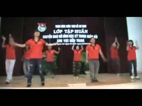 hướng dẫn nhảy bài flash mob 48 bước Rasa-sayang