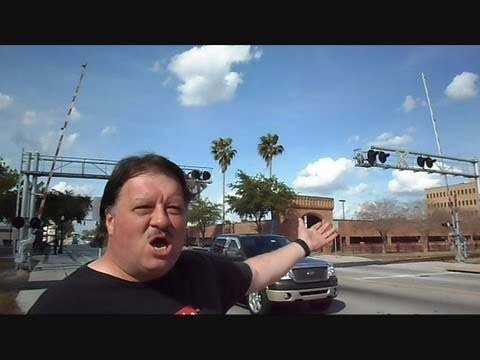 railroad crossing - This is a video I made of a malfunctioning railroad crossing I came a cross on Florida Ave in Lakeland Florida. Please watch entire video because I do some t...