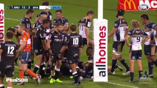 Brumbies v Sharks Rd.2 Super Rugby Video Highlights 2017