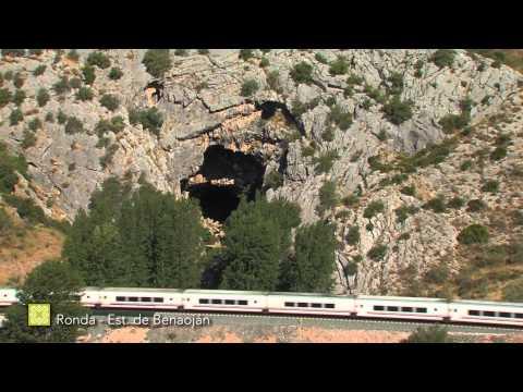 Der Große Wanderweg Málagas. Etappe 24: Ronda – Estación de Benaoján (Deutsch)