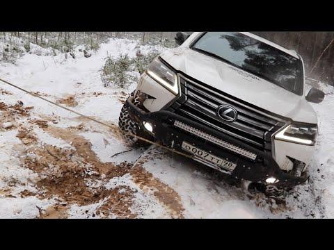 Lexus LX 570 ЗАВЕЛИ! БЕЗ ОБКАТКИ СРАЗУ НА OFFROAD! (видео)