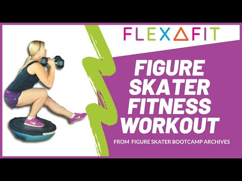 Figure Skater Bootcamp- Off Ice Training – Work Out Demos
