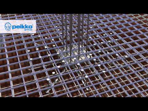 Peikko PSB - a Transverse Reinforcement System for Cast-in-situ and Precast Concrete Structures