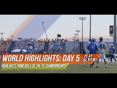 Lacrosse - https://www.lax.com/ - With the World games now in its second week, Lax.com has highlights from all the action at the 2014 World Lacrosse Championships in De...