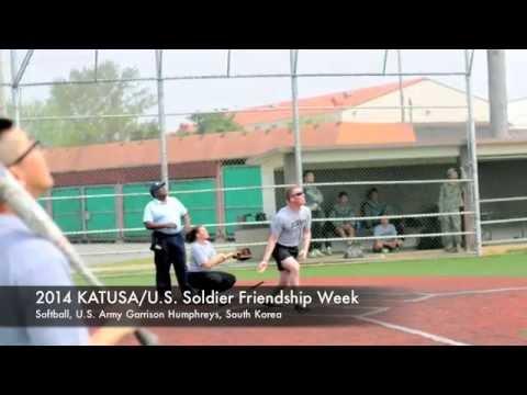 IN FOCUS – 2014 KATUSA Friendship Week – Softball – Camp Humphreys – 15-16 April 2014