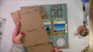 Here's a one page layout of my son giving me the tour of his college campus. http://cardcreationsbykim.blogspot.com