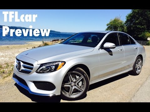 Preview - http://www.TFLcar.com ) The all new 2015 Mercedes-Benz C-Class C 300 and C 400 is a 4 door sedan that's been completely redesigned with aluminum panels to save 200 pounds over the previous...
