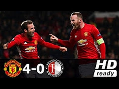 Manchester United vs Feyenoord 4 0   All Goals & Extended Highlights   Europa League 24 11 2016 HD