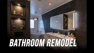 Remodeling the master bathroom / Oppussing av bad