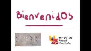 Umh1191sp 2013-14 Lec000 Introducción De La Asignatura Derecho Romano