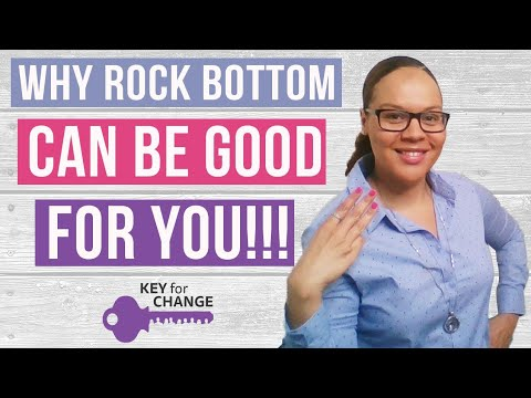 Why rock bottom can be good for you