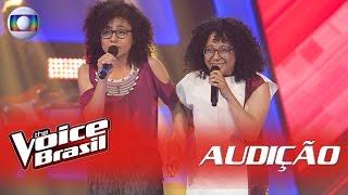 Lilian e Layane cantam 'Me Espera' na Audição - 'The Voice Brasil' | 5ª Temporada