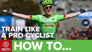 Thanks to TrainingPeaks for the products used during this video. All views are the presenters own.Training methods and styles have changed massively in a short period of time. Simon Richardson visits Cannondale-Drapac to find out how their riders train.Subscribe to GCN: http://gcn.eu/SubscribeToGCNGet exclusive GCN gear in the GCN shop! http://gcn.eu/ivDo you keep a log of your training/riding? Let us know in the comments below 👇Simon speaks to Keith Flory who is a coach/trainer for the Cannondale-Drapac cycling team. Every rider on the Cannondale-Drapac team has a coach who prescribes them a training plan.TrainingPeaks software is used to track all of the racing and training data where it is used to help plan racing schedules for each rider, this can be monitored daily.There is a traffic light system in operation for the riders, where it displays if riders have achieved what they've been set by the coach.Various acronyms are used to talk about training results, these include:TSS - Training Stress ScoreCTL - Chronic Training LoadTSB - Training Stress Balance.These acronyms and results are used by Keith to see how hard a rider has worked out. They can be looked at individually to see the results and the dashboard on TrainingPeaks also allows coaches/riders to see ongoing trends and anything that needs addressing can be done so.According to Keith the golden rule is consistency. Structured, planned and apply yourself. Working with a coach is also advised as they are able to make sure you remain committed. If there was one training session that has been really effective for riders, Keith says that a 40/20 session works well. This is a 12minute training block that is 40seconds at 120% of threshold and 20 seconds rest. This can be repeated a number of times, some professionals do this session 3 or 4 times during a ride.As with any strenuous exercise, you should consult a doctor/physician before beginning a programme of exercise. Discontinue your exercise session immediately if you experience any pain, dizziness or discomfort. Partaking in training sessions following GCN's video instruction is entirely at your own risk, and Global Cycling Network can not be held responsible for any injuries which may occur as a result of these exercises.If you'd like to contribute captions and video info in your language, here's the link 👍  http://gcn.eu/iwWatch more on GCN...5 Key Metrics To Analyse Your Power Data  📹  http://gcn.eu/293YcQVUltimate Sprint Training Tips With Marcel Kittel – How To Sprint Like A Pro  📹  http://gcn.eu/2pPhotos: © Bettiniphoto / http://www.bettiniphoto.net/ & ©Tim De Waele / http://www.tdwsport.comAbout GCN:The Global Cycling Network puts you in the centre of the action: from the iconic climbs of Alpe D'Huez and Mont Ventoux to the cobbles of Flanders, everywhere there is road or pavé, world-class racing and pro riders, we will be there bringing you action, analysis and unparalleled access every week, every month, and every year. We show you how to be a better cyclist with our bike maintenance videos, tips for improving your cycling, cycling top tens, and not forgetting the weekly GCN Show. Join us on YouTube's biggest and best cycling channel to get closer to the action and improve your riding!Welcome to the Global Cycling Network  Inside cyclingThanks to our sponsors:Alta Badia:http://gcn.eu/AltaBadia- // Maratona Dles Dolomites: http://gcn.eu/MaratonaDlesDolomites-Assos of Switzerland: http://gcn.eu/AssosKASK helmets: http://gcn.eu/KASKfi'zi:k shoes and saddles: http://gcn.eu/fizikshoes and http://gcn.eu/fiziksaddlesTopeak tools: http://gcn.eu/TopeakCanyon bikes: http://gcn.eu/-CanyonQuarq: http://gcn.eu/QuarqDT Swiss: http://gcn.eu/DtSwissScience in Sport: http://gcn.eu/SiSOrbea bikes: http://gcn.eu/OrbeaTrek Bicycles: http://gcn.eu/-TrekVision wheels: http://gcn.eu/VisionZipp wheels: http://gcn.eu/Zipppower2max: http://gcn.eu/power2maxWahoo Fitness: http://gcn.eu/Wahoo-Fitness Park Tool: http://gcn.eu/-parktoolContinental tyres: http://gcn.eu/continental-Camelbak: http://gcn.eu/camelbak-YouTube Channel - http://gcn.eu/gcnYTFacebook - http://gcn.eu/gcnFbGoogle+ - http://gcn.eu/gcnGPlusTwitter - http://gcn.eu/gcnTWLeave us a comment below!