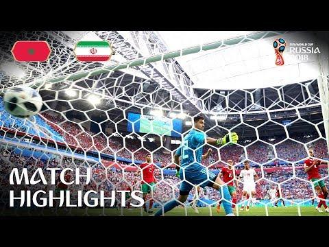 Morocco v IR Iran - 2018 FIFA World Cup Russia™ - MATCH 4 (видео)