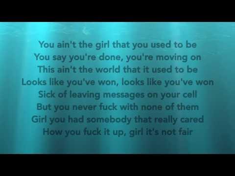 Chris Brown - Grass Ain't Greener (Lyric Version)