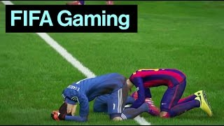 Neymar Gets His Head Stuck | Funniest FIFA 15 Fails Ever!, neymar, neymar Barcelona,  Barcelona, chung ket cup c1, Barcelona juventus