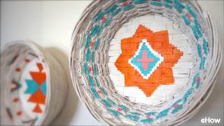 DIY your own oasis with these easy desert-style baskets! Upcycle old, lightweight baskets and transform them into great decor pieces on the cheap. Full tutorial here: http://www.ehow.com/how_12343919_desertstyle-basket-upcycle-tutorial.html