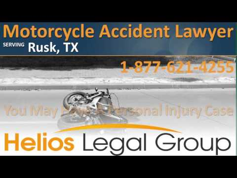 Rusk Motorcycle Accident Lawyer & Attorney – Texas