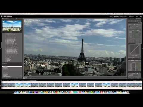 Time lapse using Lightroom 4 part 2