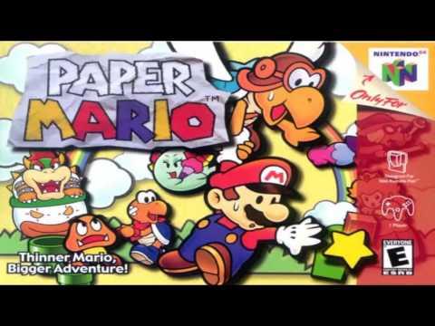 Paper Mario 64 OST - Snow Road