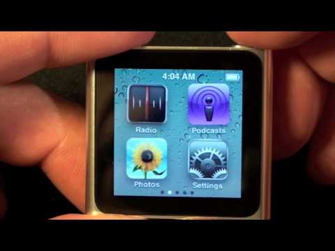 iPod - In this video I unbox, demo, and compare the newest iPod nano to it's predecessors. Amazon Link: http://amzn.to/rYp52o.