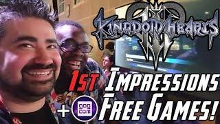 AJ's Kingdom Hearts 3 Impressions + GOG Giveaway!