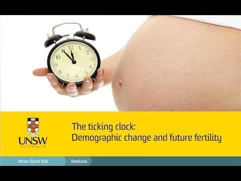 Demographic Change and Future Fertility - The 2015 UNSW Medicine Dean's Lecture